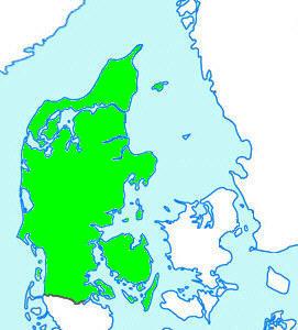 Nordjylland Østjylland Vestjylland Sønderjylland Fyn