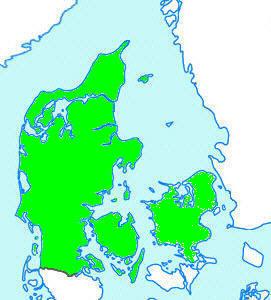 Nordjylland Østjylland Vestjylland Sønderjylland Fyn Sjælland