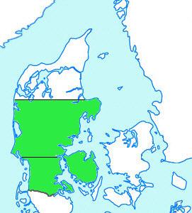 Østjylland Vestjylland Sønderjylland Fyn