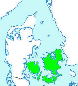 Fyn Sjælland Lolland/Falster/Møn